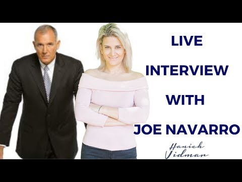 Interview with Former FBI Agent & Non-Verbal Communications Expert, Joe Navarro