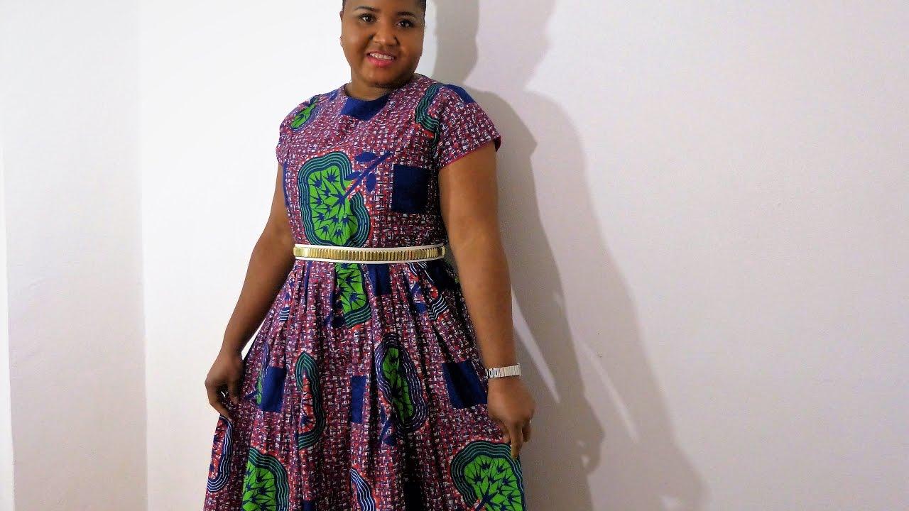 African print dresses plus size