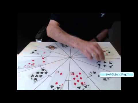 Astrology with playing cards