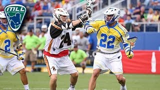 MLL Week 15 Highlights: Rochester Rattlers at Florida Launch