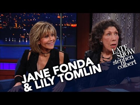 Jane Fonda and Lily Tomlin On Marching, Protesting And Being