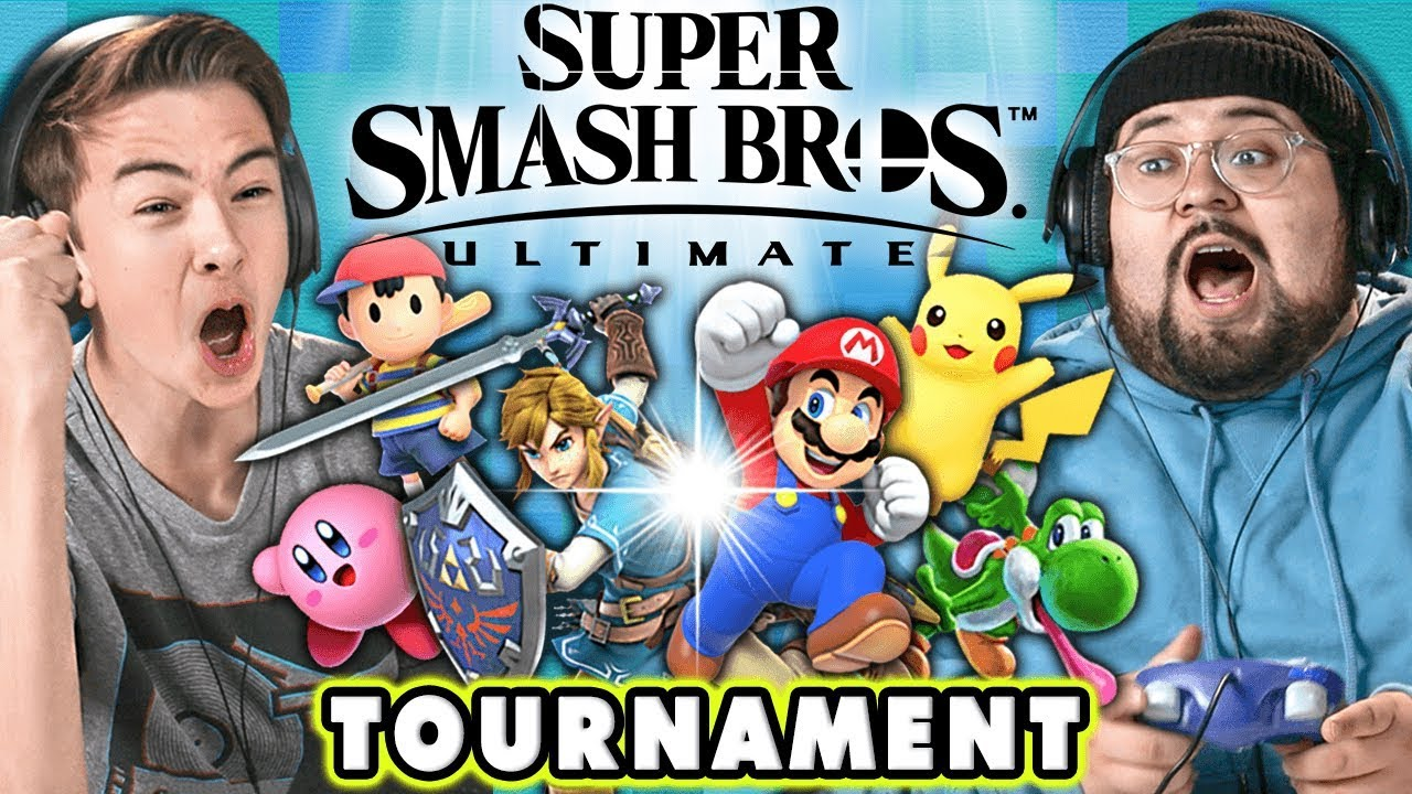 Super Smash Bros Ultimate Tournament React Gaming