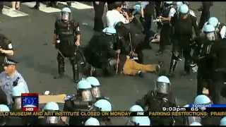 Chicago Police & NATO Protesters Clash in the South Loop (Recap)