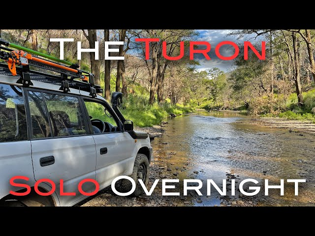 Solo Overnight 4x4 Camping On The Turon River - Touring The Turon Trek