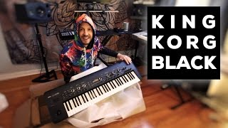 King Korg Black Unboxing And Playing
