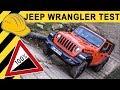 100% Steigung! Jeep Wrangler  Im Test Offroad & Onroad!