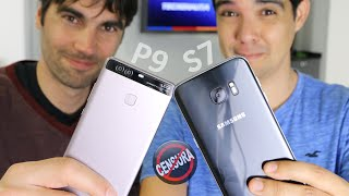 mi GALAXY S7 vs HUAWEI P9 de Marc | Charla sin censura