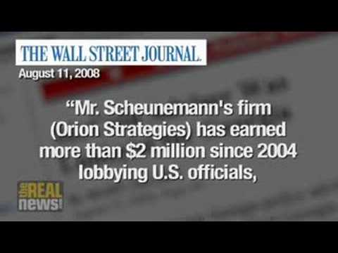 Who is Randy Scheunemann?
