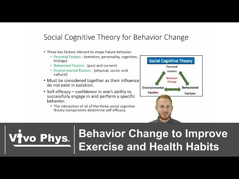 Behavior Change to Improve Exercise and Health Habits