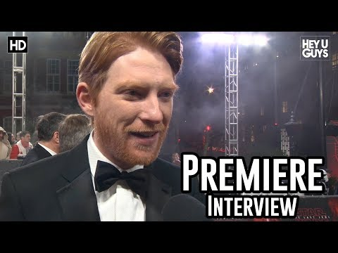 Domnhall Gleeson | Star Wars The Last Jedi Premiere Interview