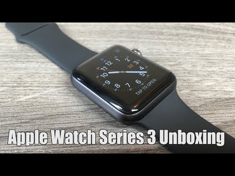 d6dc6a4378e Apple Watch Series 3 Space Grey Unboxing and Setup - YouTube