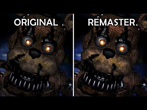 FNAF 4 - Remastered Jumpscares 1080p HD (with Slo-mo)