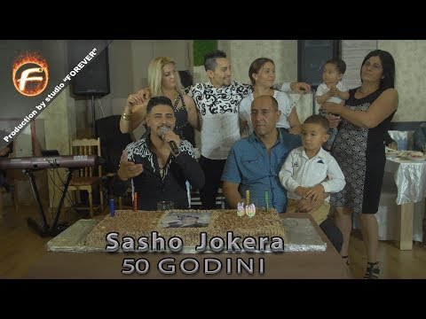 Sasho Jokera - 50 GODINI