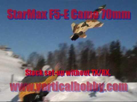 StarMax F5-E Camo, Second Flight