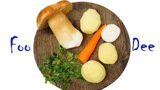 Ароматный суп из белых грибов ☆ Грибной суп из простых ингредиентов