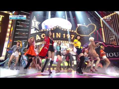 131208 [Live] T-ara - What Should I Do [SBS Inkigayo] HD