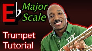 how to play eb major scale on trumpet
