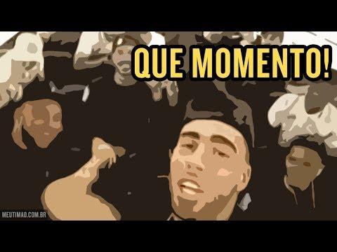 'QUE MOMENTO': JOGADORES E TORCEDORES DO CORINTHIANS TIRAM ONDA EM VOO