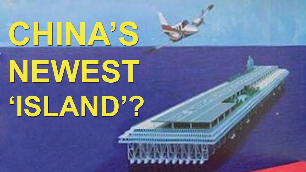 china may build floating islands in the south china sea china uncensored youtube build floating