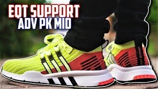 adidas EQT SUPPORT MID ADV PRIMEKNIT REVIEW and ON-FEET