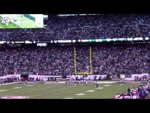 Santonio Holmes Game Winning Touchdown vs Texans 11/21