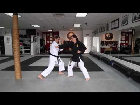 Karate KCRD - hand drills #3 Rudy Duquet