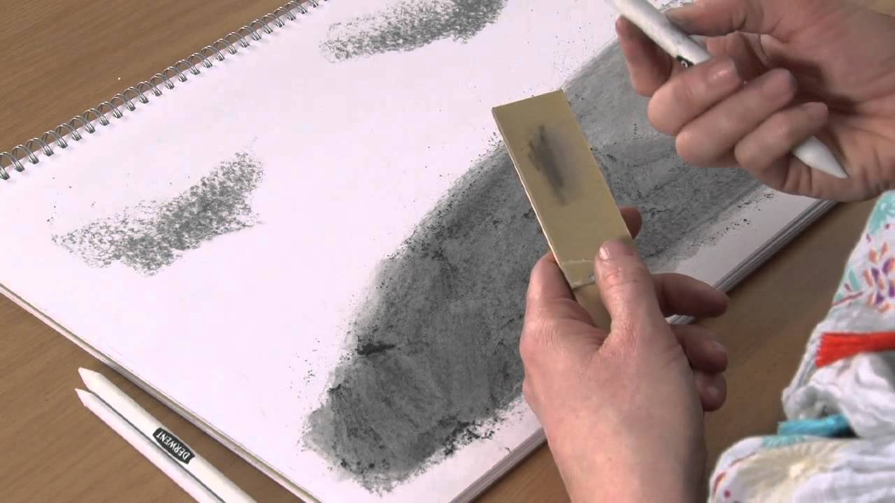 paper stump A tortillon is a tightly rolled sheet of paper, the inside of which is pushed out into a pencil shape and used by pencil, pastel and charcoal artists to blend and push colour around on the drawing paper, softening edges and graduating tones.