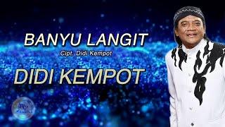 Didi Kempot - Banyu Langit ( Official Lyric Video )
