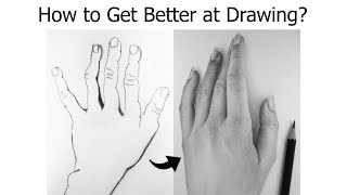How to Get BETTER at DRAWING Quickly - For BEGINNERS