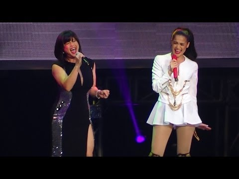 REGINE VELASQUEZ & ANNE CURTIS - On The Wings Of Love (The Forbidden Concert!)