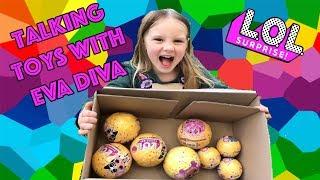 LOL Surprise Dolls I Talking Toys with Eva Diva I Surprise Delivery I