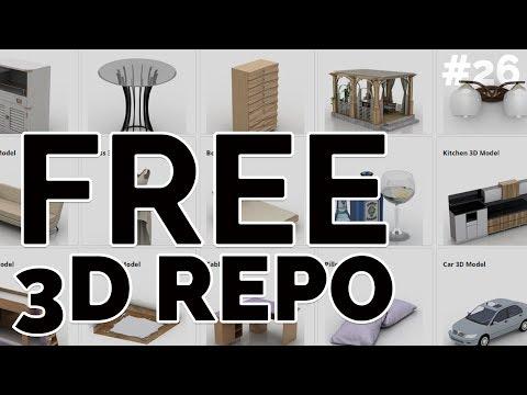 free-3d-model(s)-repo---free-friday