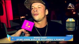 Mario Hart puso picón por baile de Alejandra Baigorria y Pancho