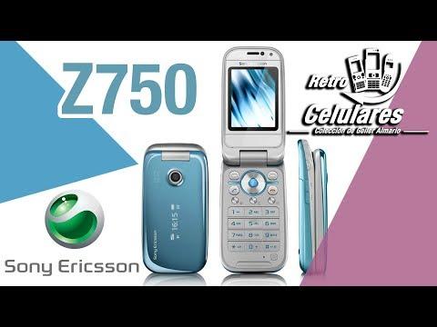 Recuerdas SONY ERICSSON Z750 RETRO CELULARES Colección Celulares clásicos, de antes, old cell phones