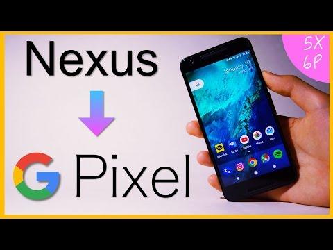 [6P, 5X] Convert your Nexus into Google Pixel