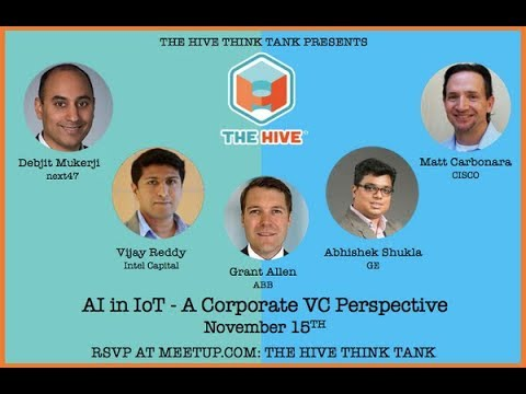 AI in IoT - A Corporate VC Perspective