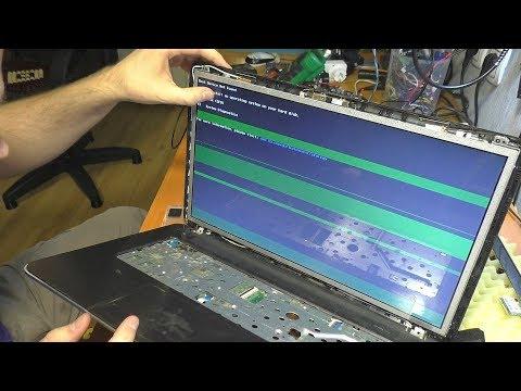 Полосы на экране ноутбука HP PAVILION 17-e151sr