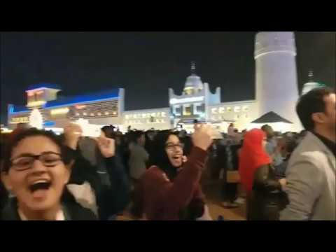 Happy New Year – 2018 from UAE! at Global Village, Dubai