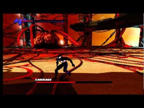 spiderman shattered dimensions carnage fight youtube