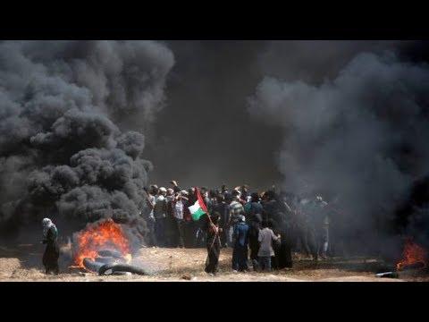 Беспорядки в Секторе Газа: десятки погибших | НОВОСТИ - Смотреть видео без ограничений