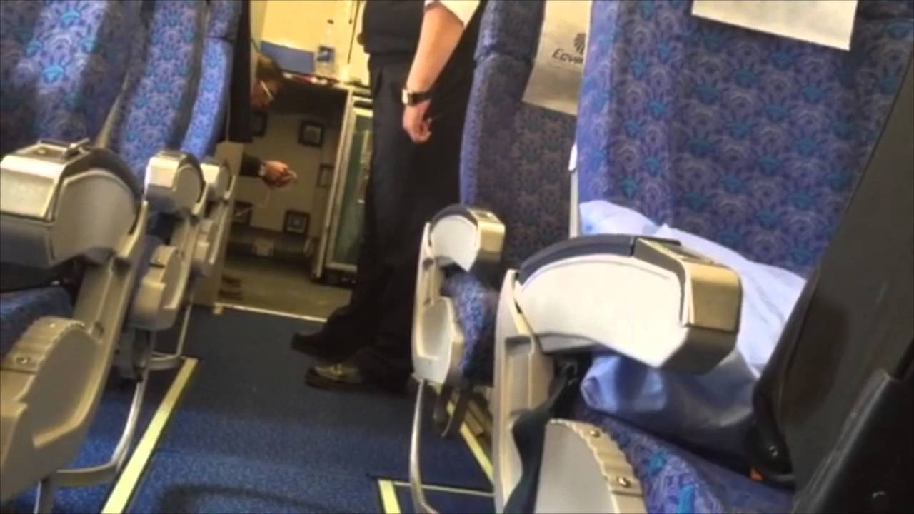 Passenger Video Shows EgyptAir Flight MS181 hijacker Seif Eldin Mustafa