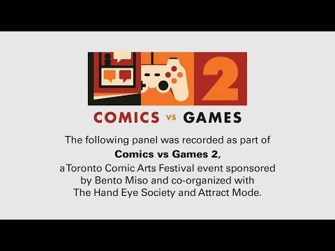 Comics vs Games: Narrative Intersections, a Toronto Comic Arts Festival panel
