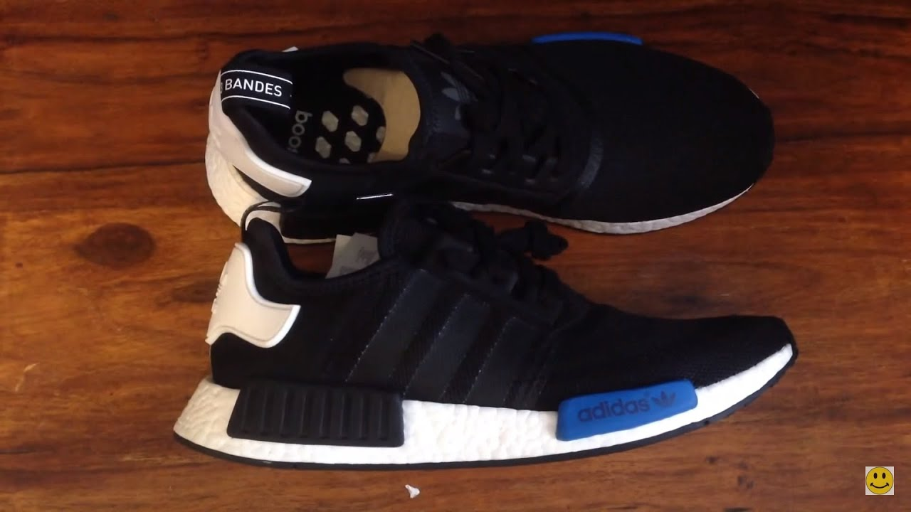 43b7a5846ca2f Adidas NMD R1 2016 Shoes Full Unboxing and Review - YouTube
