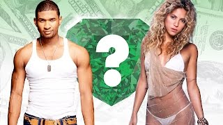 WHO'S RICHER? - Usher or Shakira? - Net Worth Revealed!