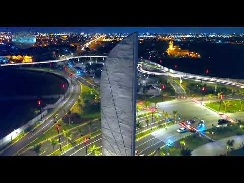 Jeddah, Saudi Arabia City video by drone 4K 2020 720p