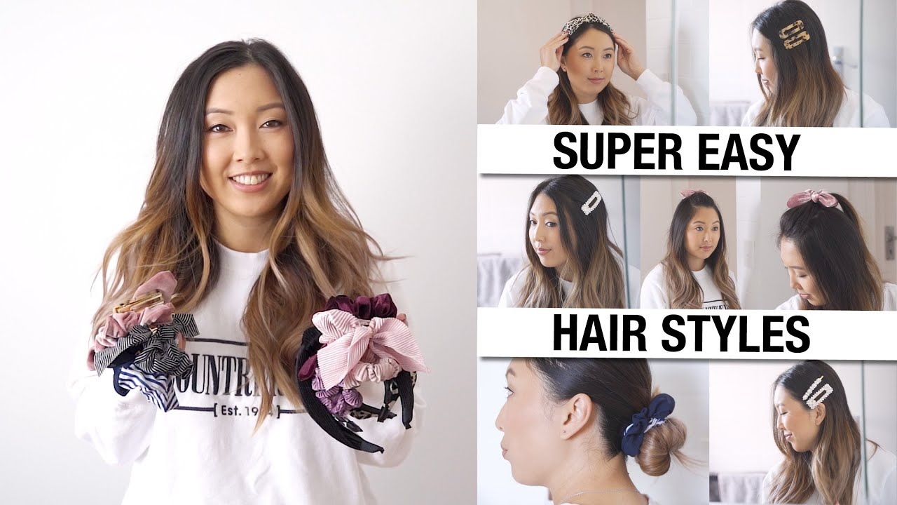 Download How to style DIRTY HAIR - Super easy & quick