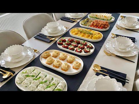 Akşam Yemeği Menüsü  Pratik ve Şık Tarifler  5 Yeni Tarif indir