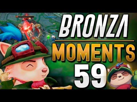 EL TEEMO con MENOS IQ de BRONCE   BRONZA MOMENTS (Semana 59)