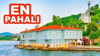İstanbul Boğazı'ındaki En Pahalı 10 Yalı