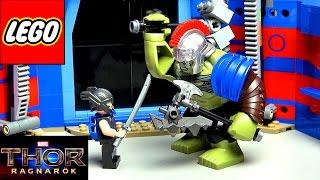 ЛЕГО ТОР ПРОТИВ ХАЛКА Бой на арене 76088 Обзор LEGO Marvel Super Heroes 2017 Thor Ragnarok набор